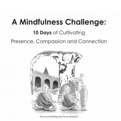 Join us in a 10-day mindfulness challenge starting January 15!